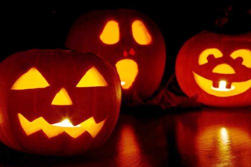 jack-o-lantern pumpkins